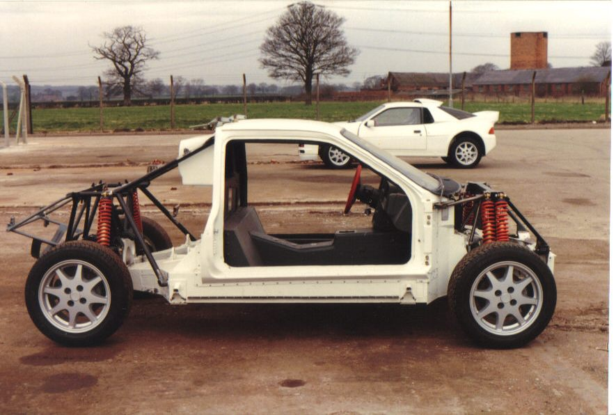 The Ford RS200 chassis