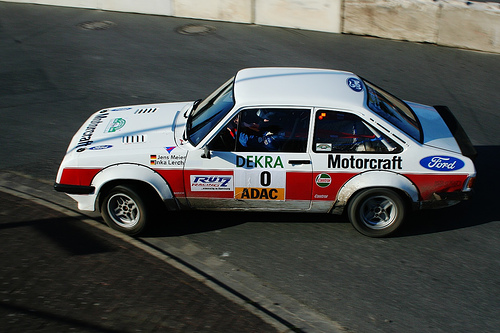 The Escort replaced by the RS200