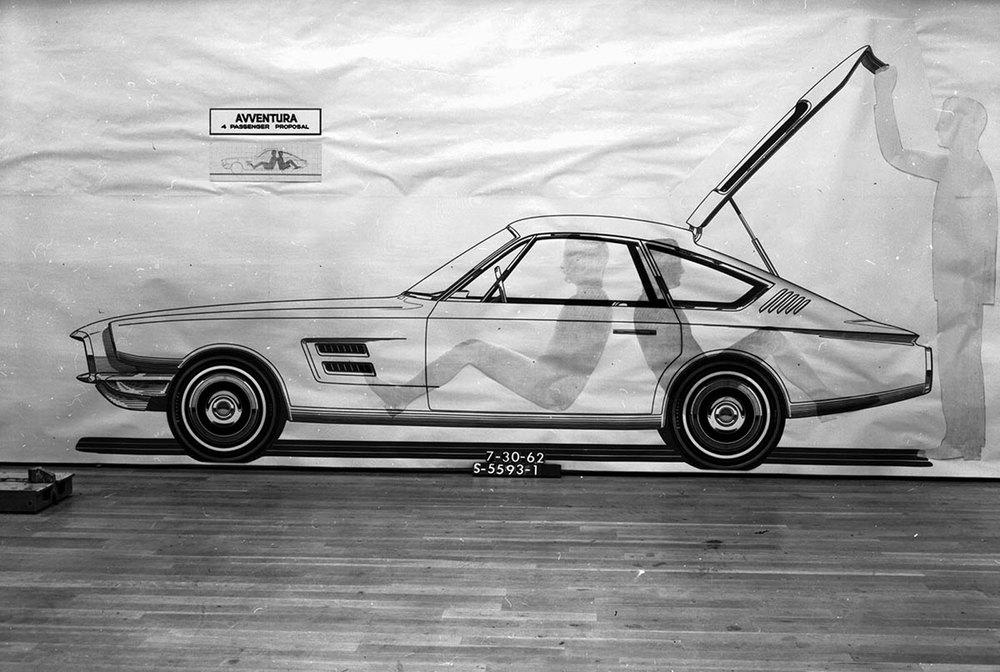 The Avventura concept - 1962