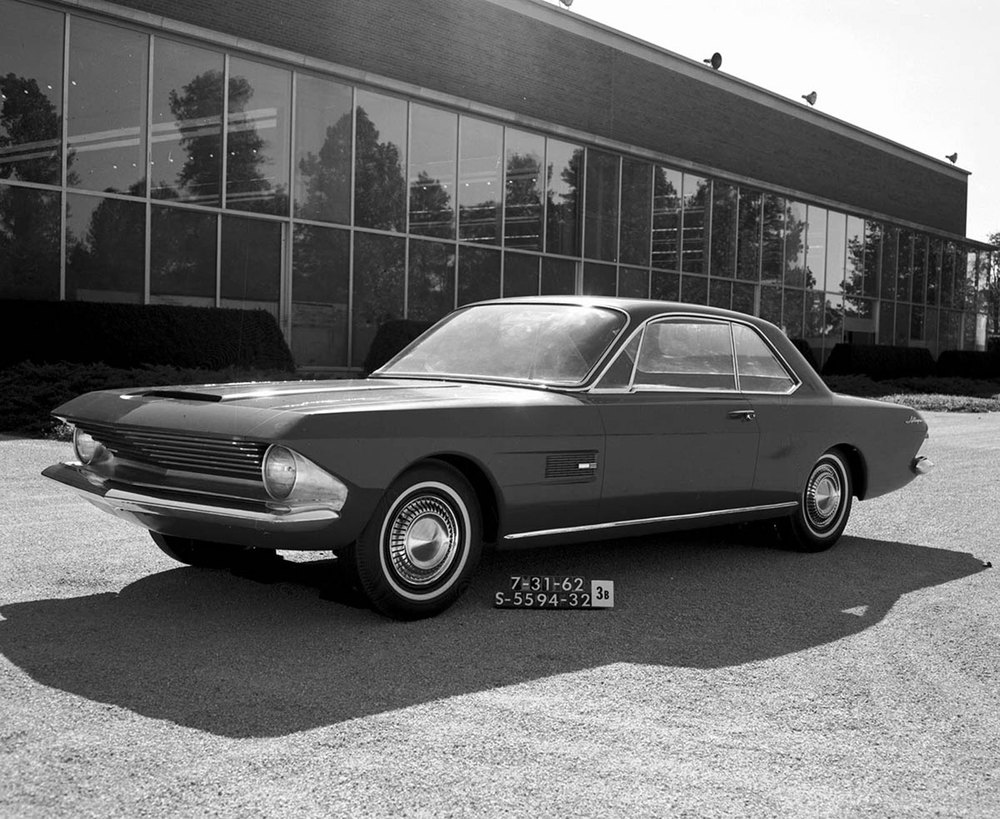 The Allegro Coupe - 1962