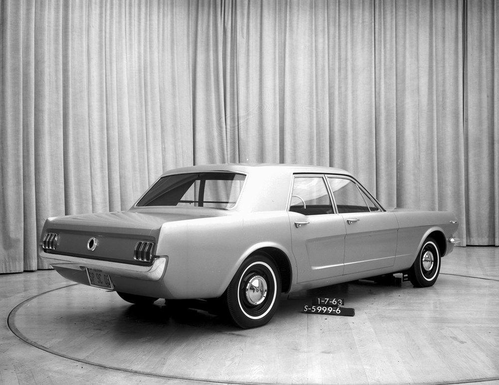 Four-door Mustang development model - 1963