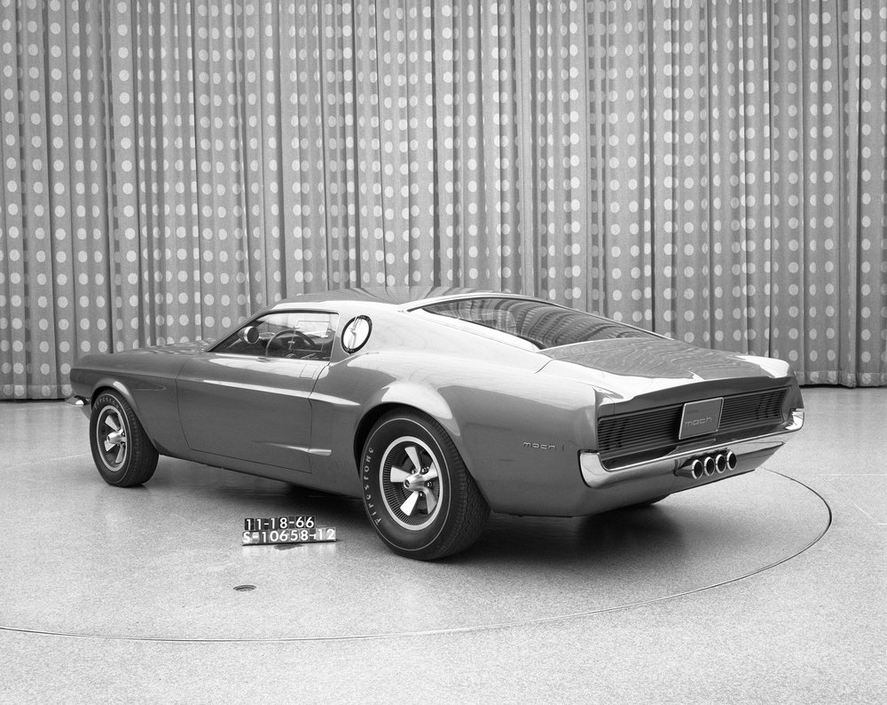 Mach I concept - 1966 - Check ut those tailpipes. Very cool.