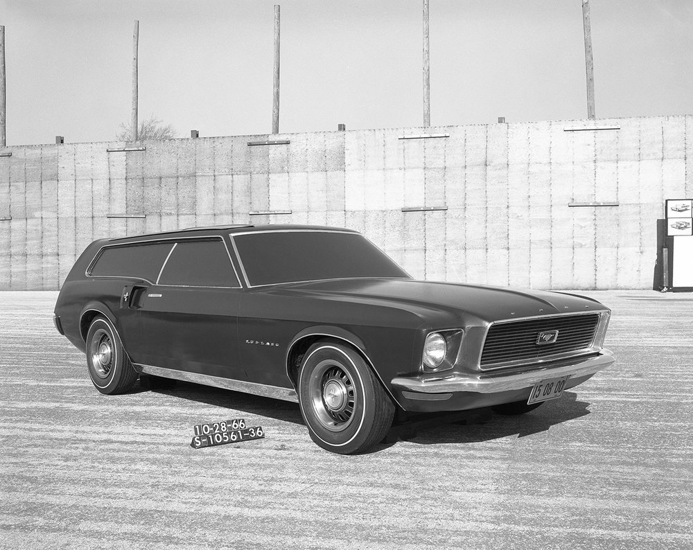 Mustanf Shooting Brake concept - 1966