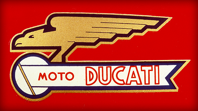 Motorcycle Logo Evolution Ducati 95 Customs