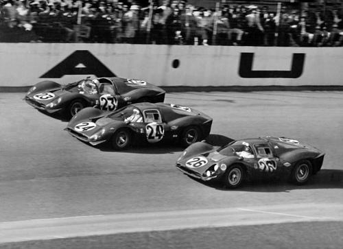 The 1967 Daytona 24 Hour Ferrari 1-2-3 finish
