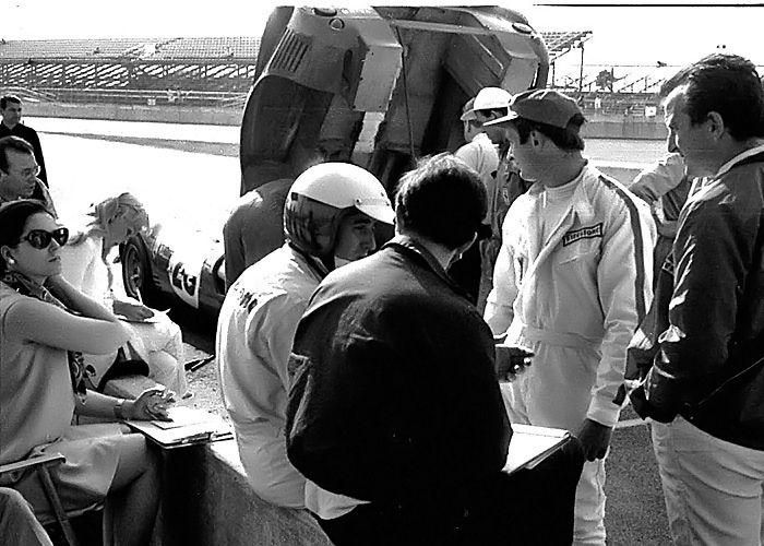 Ferrari at the 1967 LeMans 24