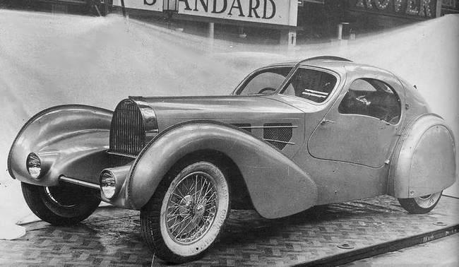 The Aerolithe concept car