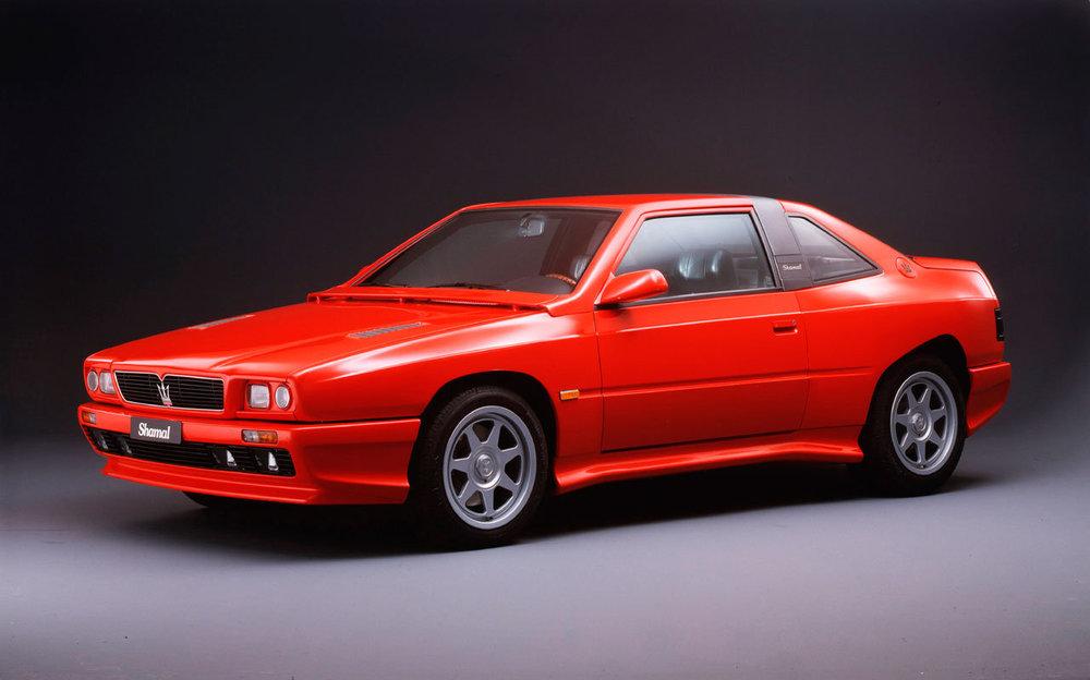 The Maserati Shamal