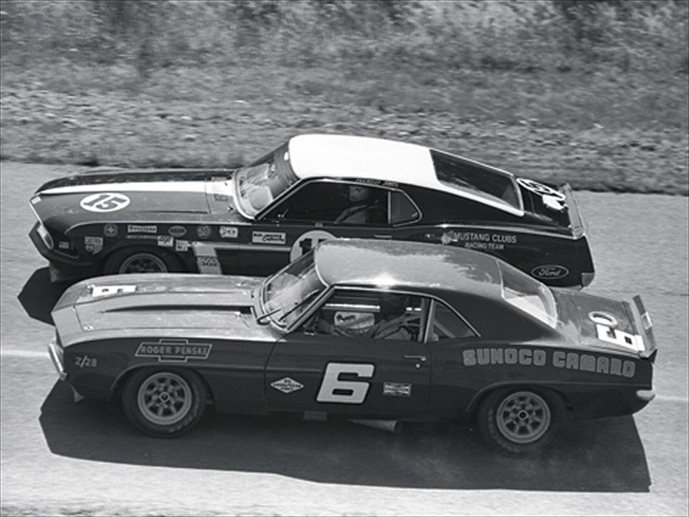 The 1969-70 Bud Moore Trans-Am Mustangs — 95 Customs