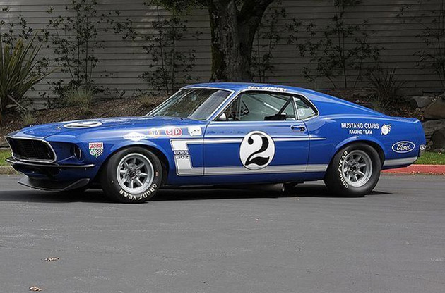 The Shelby competitor that ran alongside Bud Moore's cars