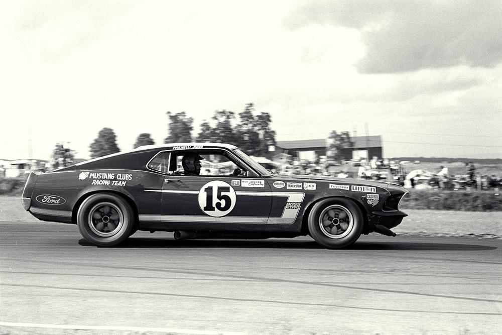 The 1969-70 Bud Moore Trans-Am Mustangs — 95 Customs