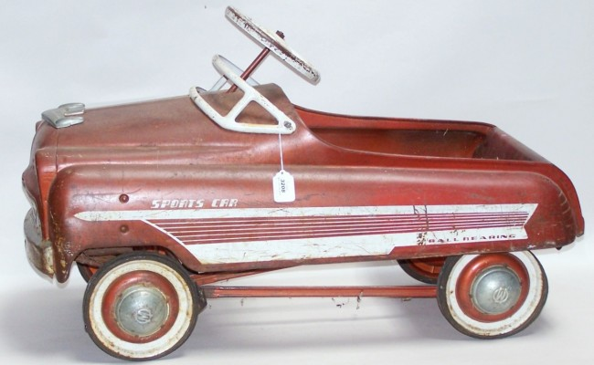 a brief history of the pedal car