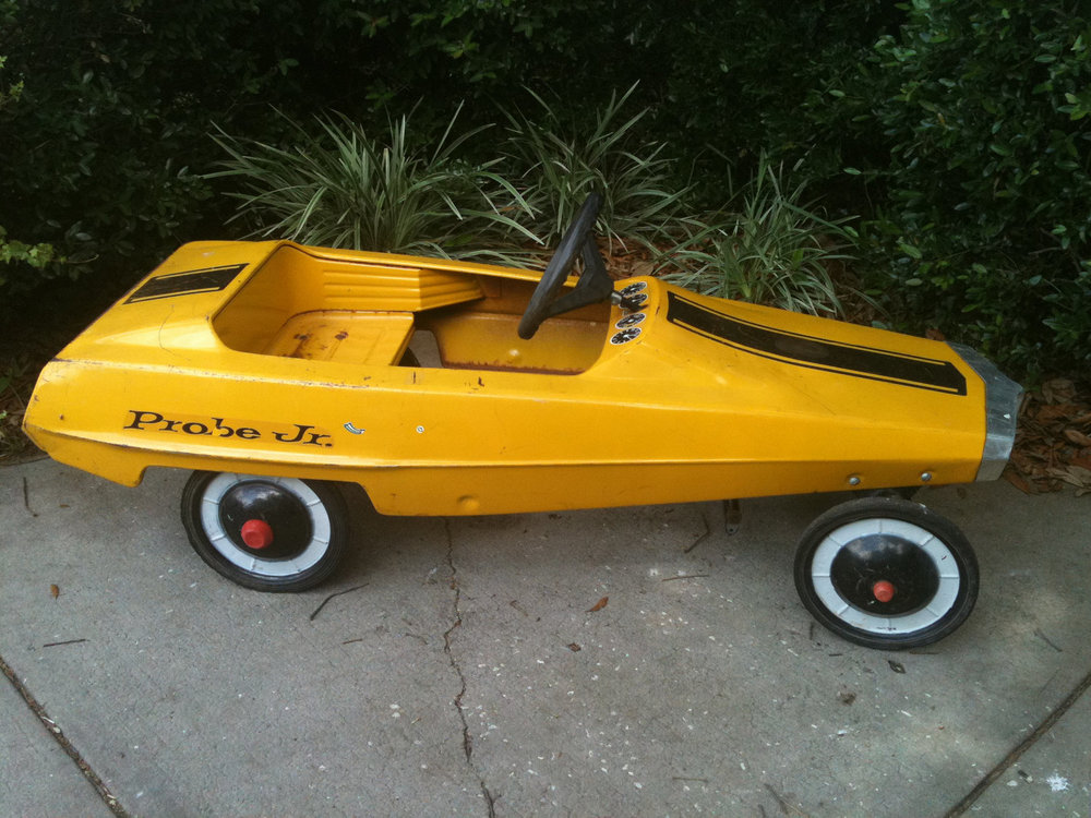 A Brief History Of The Pedal Car 95 Customs