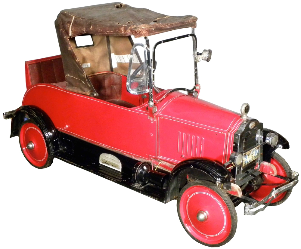A Brief History of the Pedal Car — 95 Customs