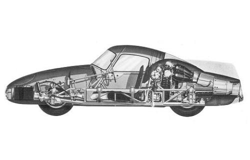 The 1954 Fiat Turbina Concept 95 Customs