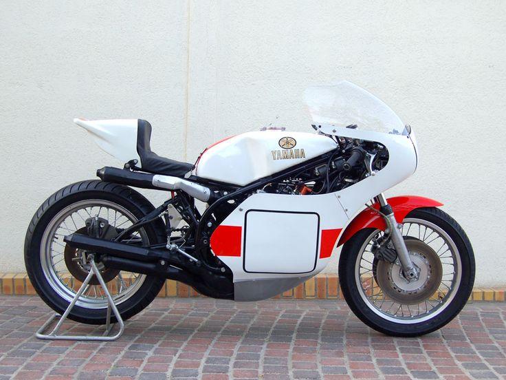 The 1974 80 yamaha tz750 95 customs for Yamaha 350cc motorcycles