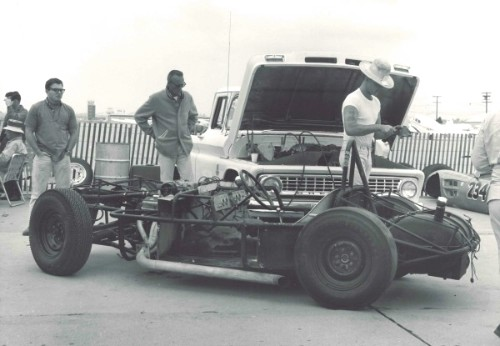 The Kurtis chassis