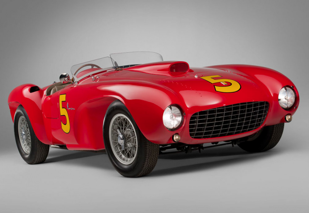 The 1953 Ferrari 375 MM - An influence on the custom-bodied Kurtis?
