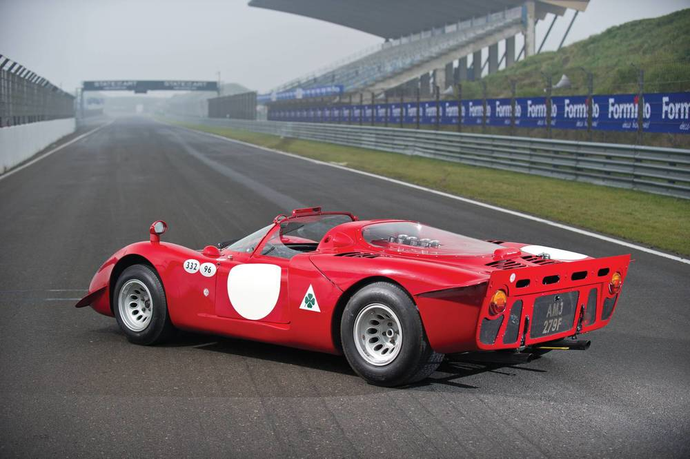 The race version of the Tipo 33