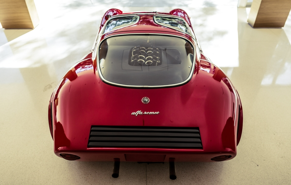 The 1968 alfa romeo tipo 33 stradale 95 customs for Garage specialiste alfa romeo