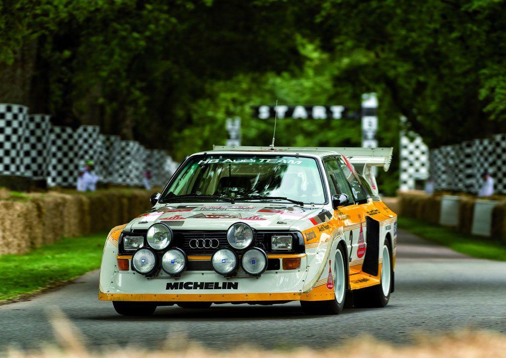 The 1984 85 Audi Sport Quattro S1 Group B Rally Car 95 Customs