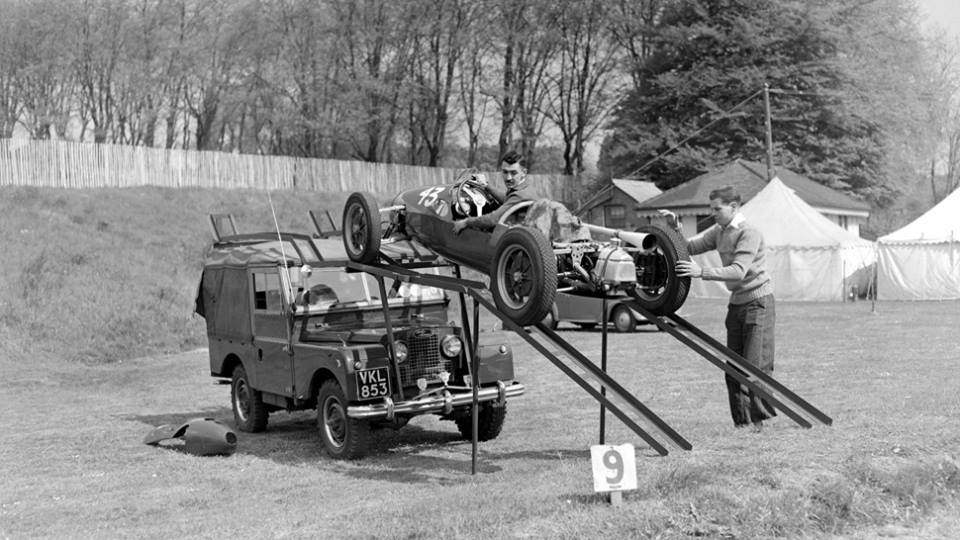 A Photographic History Of Vintage Race Car Transporters Customs