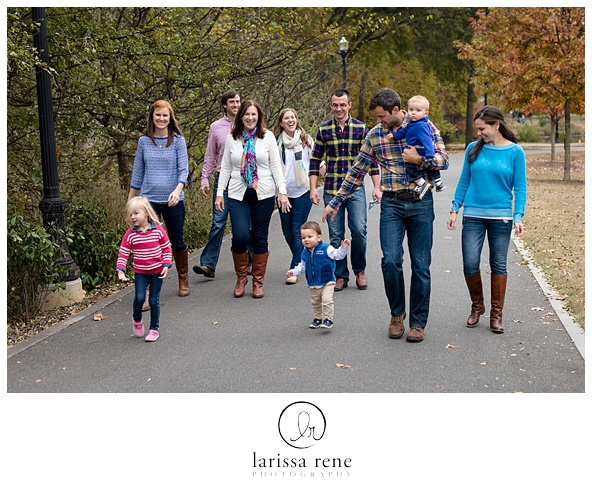 christmas family session in atlanta georgia piedmont park atlanta photographer