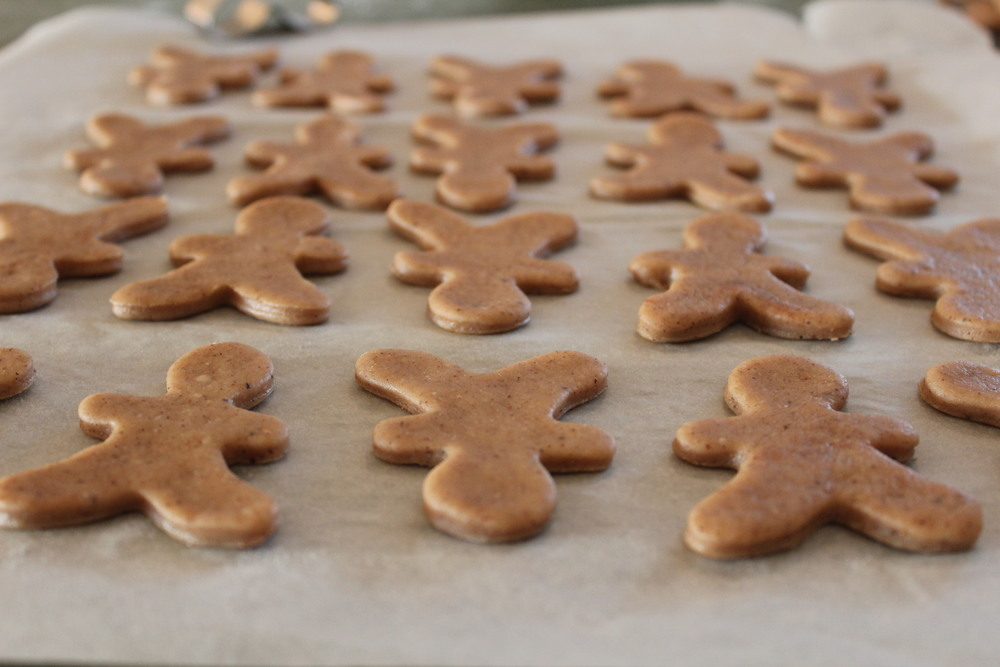 I also made some gingerbreadmen