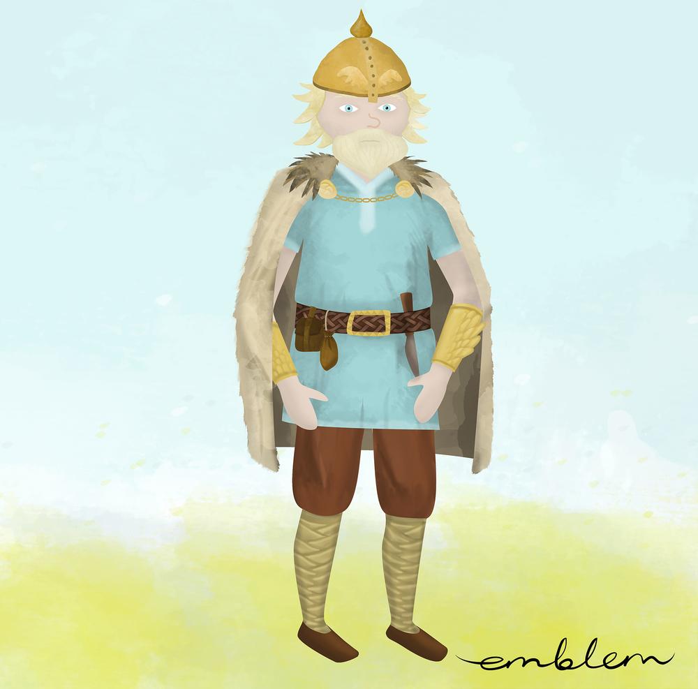 Heimdallur, the Guard of Bifrost