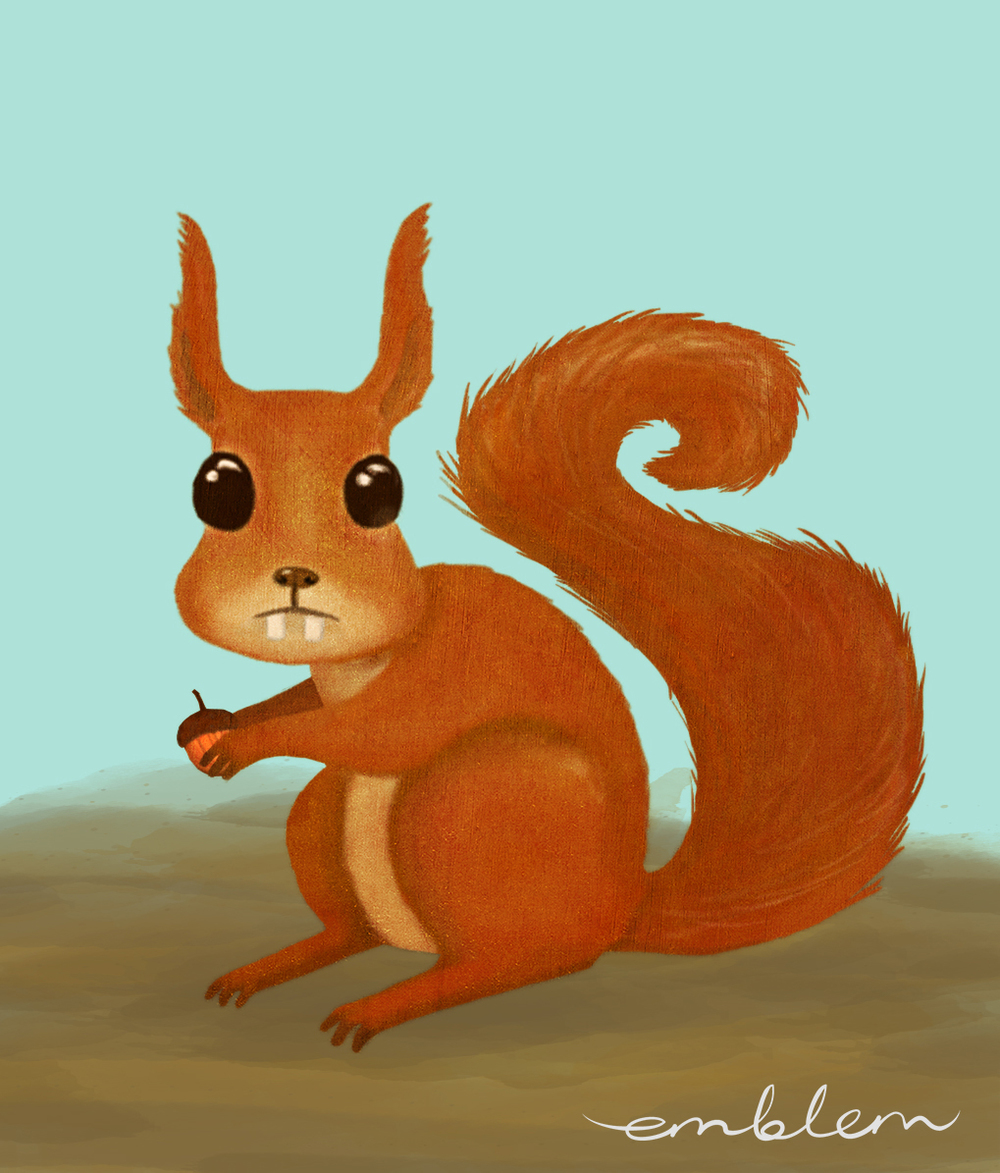Ratatoskur, the squirrel that carries gossip
