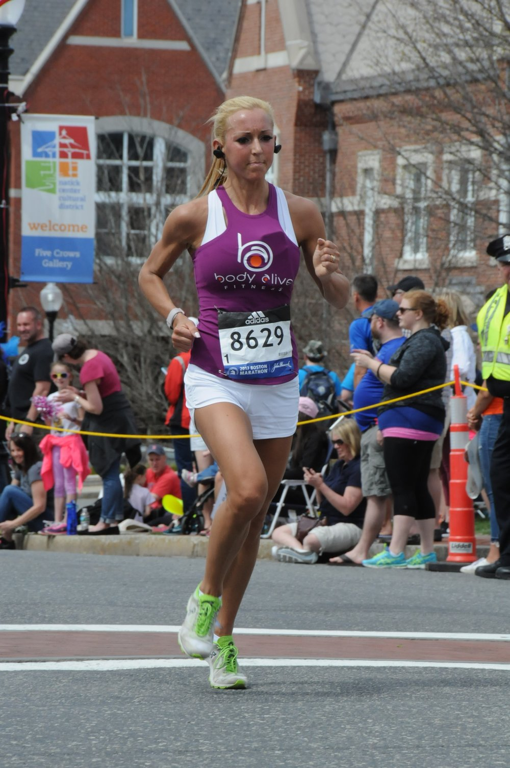 Megan Del Corral, Runner