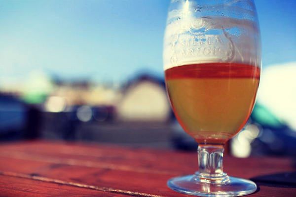 Enjoy a beer outside this Summer in The Rose and Crown beer garden