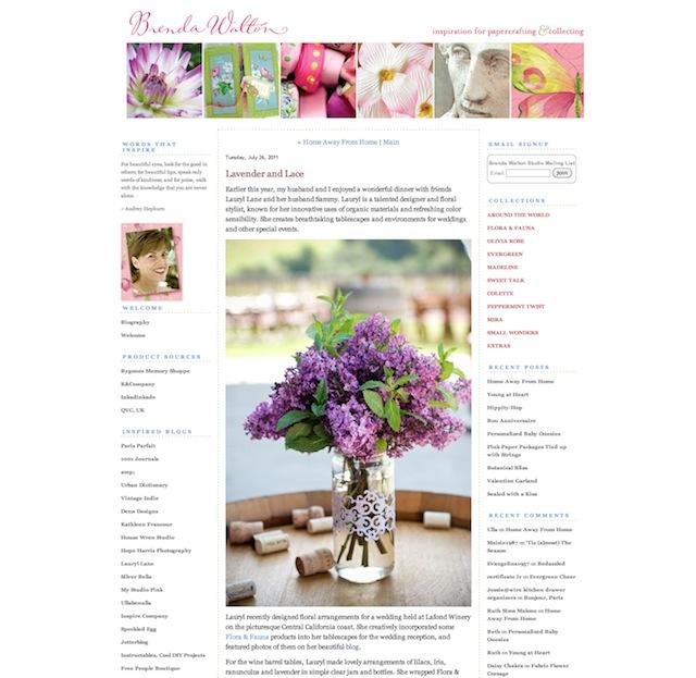 brenda walton, blog feature, lilac, mint, purple, wedding, centerpiece