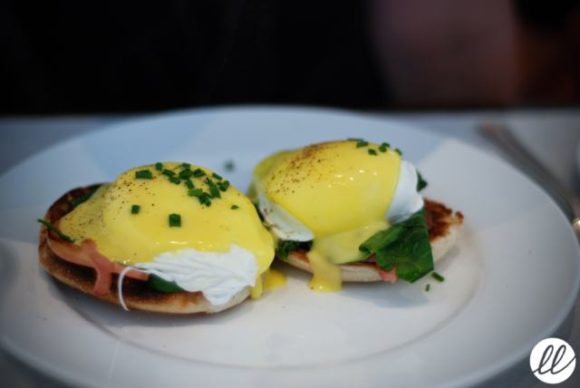 Bottega Louie, eggs benedict, brunch, downtown Los Angeles