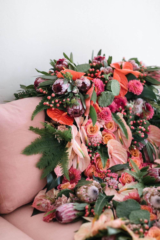 Lauryl Lane Botanical Stylist Floral Blanket