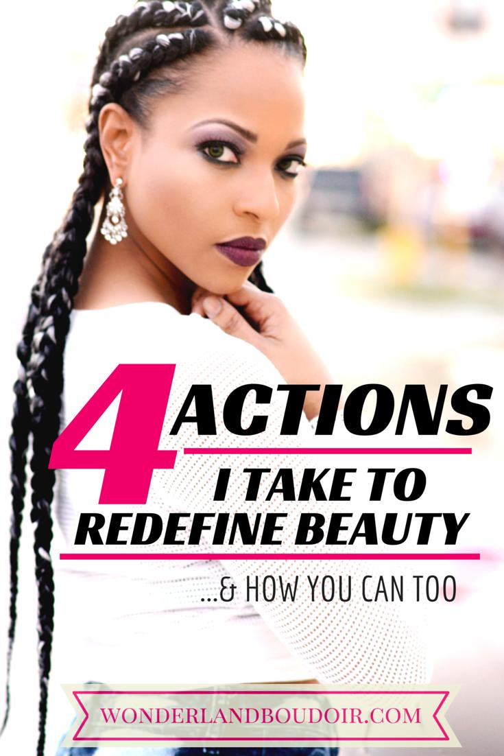 Four Actions that Redefine Beauty Dallas Boudoir