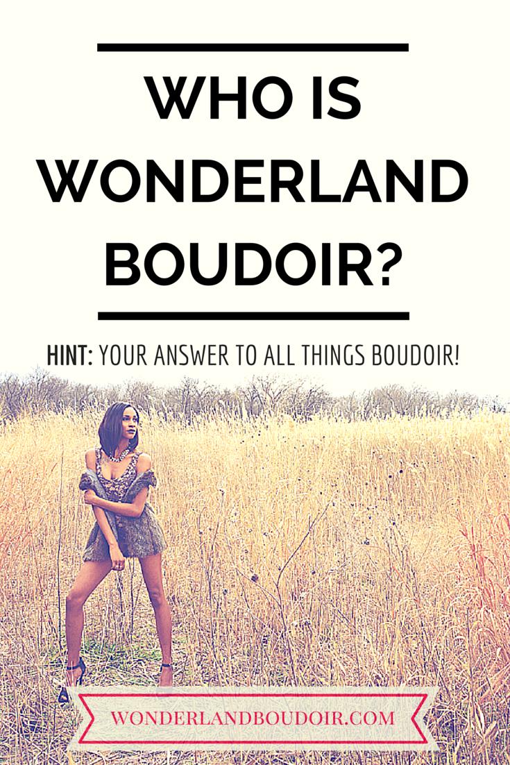 Boudoir Photography in Dallas, Wonderland Boudoir