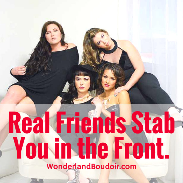 Real Friends Stab You in the Front