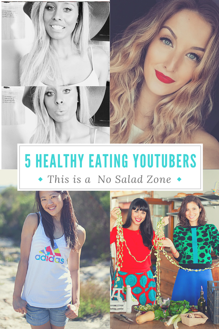 YouTubers that have Healthy Food Recipes