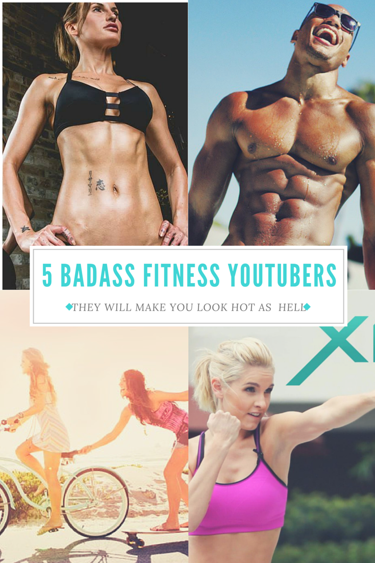5 Badass Fitness YouTubers