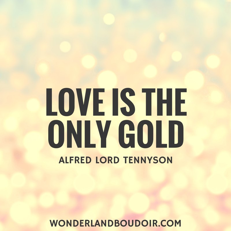 Love Is The Only Gold