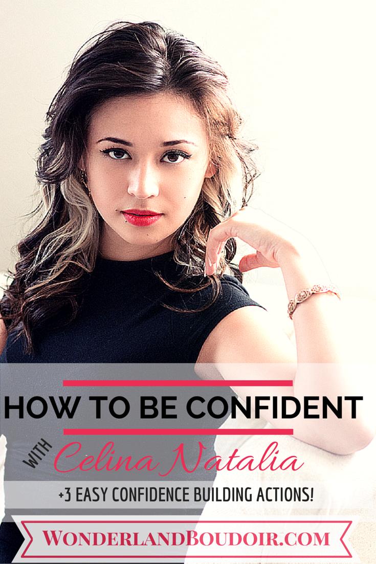 Dallas Boudoir, How to be Confident