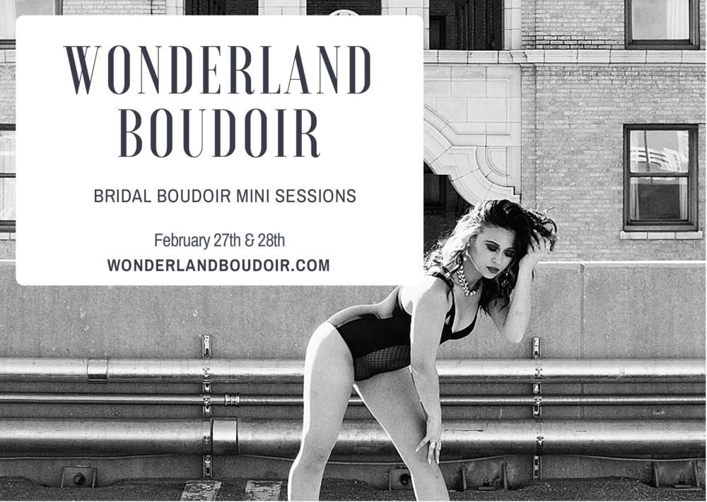 Dallas Boudoir Mini Session, Wonderland Boudoir