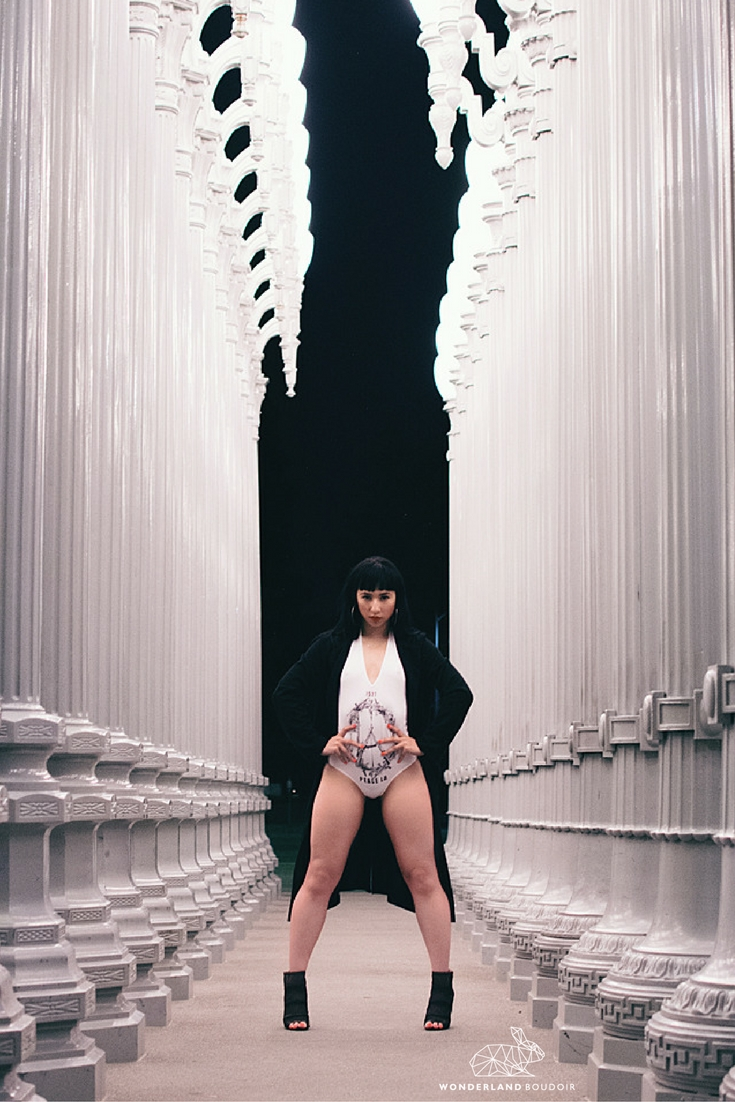 LACMA, BOuodir Session, Wonderland Boudoir, Editorial