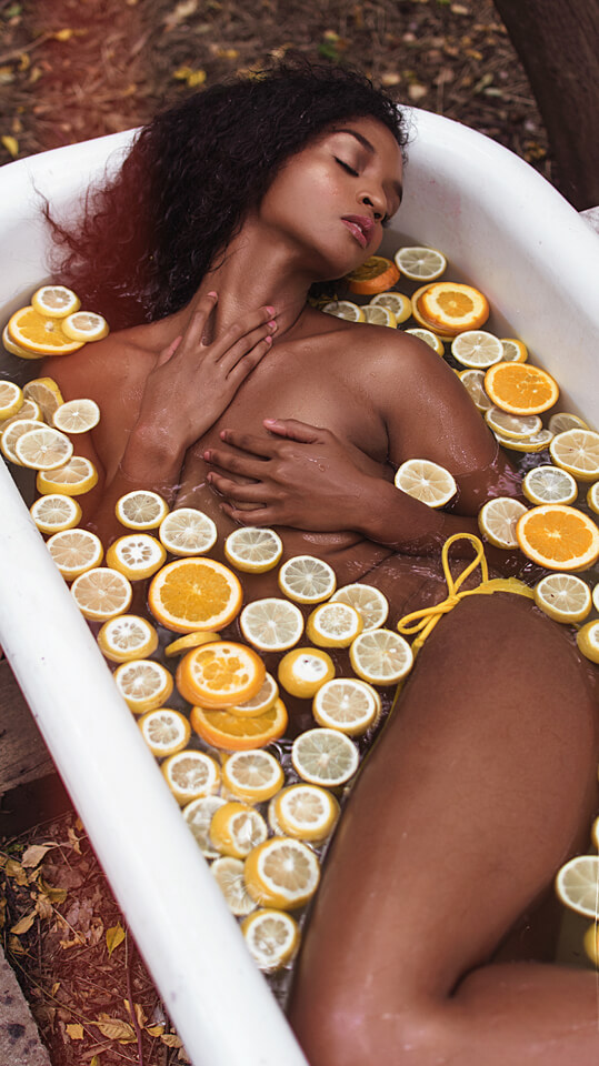 Dallas Boudoir, Wonderland Boudoir Outside Boudoir  French Tub Lemons Oranges Citrus-43.jpg