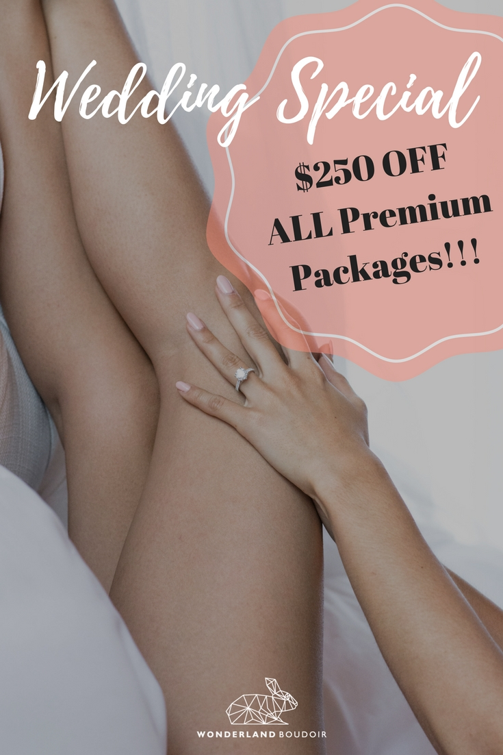 Dallas Boudoir Wedding Engagement Special