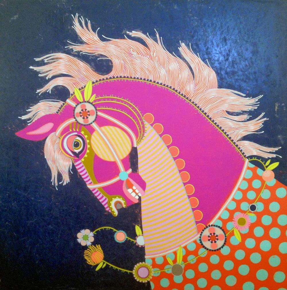 Jennifer Davis Horse Painting