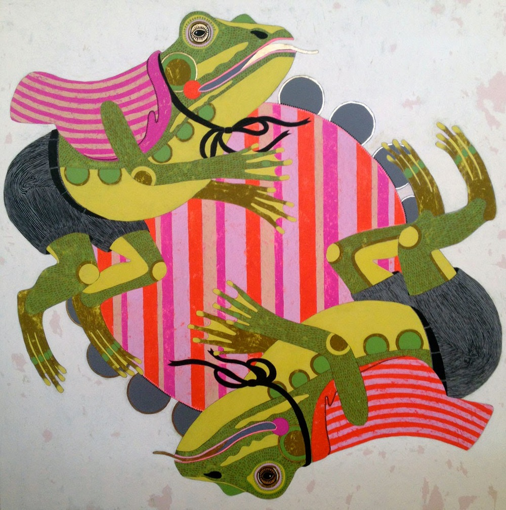 Jennifer Davis Frogs