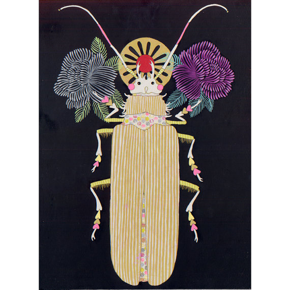 Jennifer Davis Beetle Painting