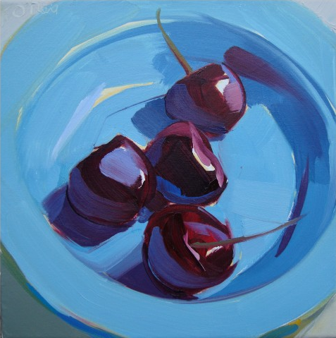 Still life painting Karen O'Neil